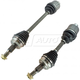 1AACS00167-CV Axle Shaft Pair