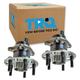 1ASHS01007-2008-14 Scion xD Wheel Bearing & Hub Assembly Pair