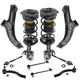 1ASFK04230-2007-11 Nissan Versa Steering & Suspension Kit
