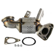 1AEEM00830-Exhaust Manifold with Catalytic Converter Assembly