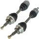 1AACS00180-1995-02 Lincoln Continental CV Axle Shaft Pair