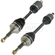 1AACS00185-CV Axle Shaft Pair
