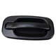 1ADHE00817-Exterior Door Handle Front Passenger Side Black