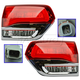 1ALTP01023-2014-18 Jeep Grand Cherokee Tail Light Pair