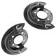 1ABMK00159-Brake Rotor Backing Plate Rear Pair  Dorman 924-226