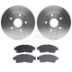 RABFS00077-Toyota Camry Brake Pad & Rotor Kit Front Raybestos SGD562M  96219R