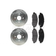 RABFS00076-1998-99 Acura CL Honda Accord Brake Kit Front