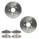 RABFS00070-Brake Pad & Rotor Kit Front Raybestos SGD727C  56655R