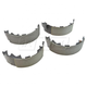 1ABPS02325-2001-06 Jeep Wrangler Brake Shoes