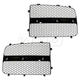 1ABMK00140-Dodge Grille Insert Pair