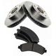 RABFS00069-Brake Pad & Rotor Kit Front Raybestos SGD726C   56694R