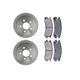 RABFS00068-Brake Pad & Rotor Kit Rear Raybestos SGD698C   56629R