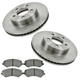 RABFS00093-2002-07 Jeep Liberty Brake Kit Front  Raybestos SGD856M  780036R