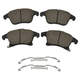 1ABPS02337-2013-16 Ford Fusion Lincoln MKZ Brake Pads