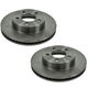 RABFS00092-2002-07 Jeep Liberty Brake Rotor Front Pair