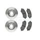 RABFS00098-Brake Pad & Rotor Kit Front Raybestos SGD856C  780036R