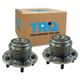 1ASHS01053-2009-15 Honda Pilot Wheel Bearing & Hub Assembly Pair