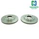 1APBR00368-Brake Rotor Pair  Nakamoto 5550-DSZ