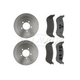 RABFS00091-Brake Pad & Rotor Kit Rear Raybestos SGD981C  680026R