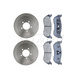 RABFS00090-2002-05 Brake Kit Rear  Raybestos SGD881C  680026R