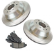 RABFS00087-Brake Pad & Rotor Kit Rear Raybestos SGD653C  96363R