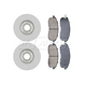RABFS00085-Brake Pad & Rotor Kit Front Raybestos SGD653C  96363R