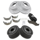 1APBS00893-2001-06 Jeep Wrangler Brake Kit
