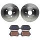 RABFS00080-Brake Pad & Rotor Kit Front Raybestos SGD707C  96217R