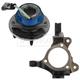 1ASHS01058-Wheel Bearing & Hub Assembly Front