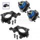 1ASHS01060-Wheel Bearing & Hub Assembly Front Pair