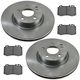 1ABFS02894-2003-06 Mercedes Benz E500 Brake Kit