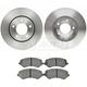RABFS00038-Brake Pad & Rotor Kit Front Raybestos SGD856M  780036R