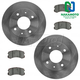 1ABFS02903-Mitsubishi Lancer Brake Kit  Nakamoto 31060  CD904