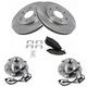 1ABMS00069-Brake & Wheel Bearing Kit