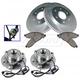 1ABMS00070-Brake & Wheel Bearing Kit