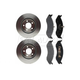RABFS00030-Jeep Brake Kit Front  Raybestos SGD477M  780444R