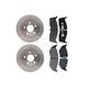 RABFS00031-Brake Pad & Rotor Kit Front Raybestos SGD730M  76912R