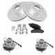 1ABMS00098-Brake & Wheel Bearing Kit