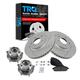 1ABMS00090-2005-07 Nissan Murano Brake & Wheel Bearing Kit