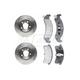 RABFS00024-Brake Pad & Rotor Kit Raybestos SGD623M  56325R
