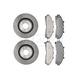 RABFS00025-Brake Pad & Rotor Kit Raybestos  SGD652M  66576R