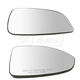 1AMRP01817-Chevy Malibu Saturn Aura Mirror Glass Pair
