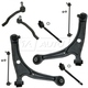 1ASLF00744-Toyota Sequoia Tundra Control Arm with Ball Joint