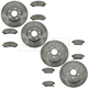 1ABFS02916-2006-11 Honda Ridgeline Brake Kit  Nakamoto CD1102  CD1103  31402  31398