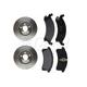 RABFS00021-Brake Pad & Rotor Kit Front Raybestos SGD506M 56140R