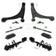 1ABFS01653-Saab 9-5 Brake Rotor Rear Pair