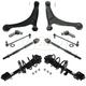 1ASFK04850-2006-14 Honda Ridgeline Steering & Suspension Kit