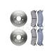 RABFS00058-Brake Pad & Rotor Kit Front Raybestos SGD785C  56825R