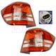 1ALTP01033-2010-16 Dodge Journey Tail Light Pair
