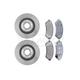 RABFS00052-Brake Pad & Rotor Kit Front Raybestos  SGD699M  56641R